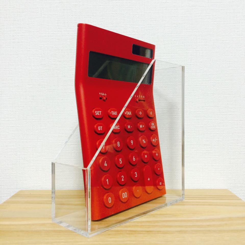 シンプルなのにできるヤツ〜〜無印良品の電卓 その2 - & BONO インテリアデザイン、あれやこれや